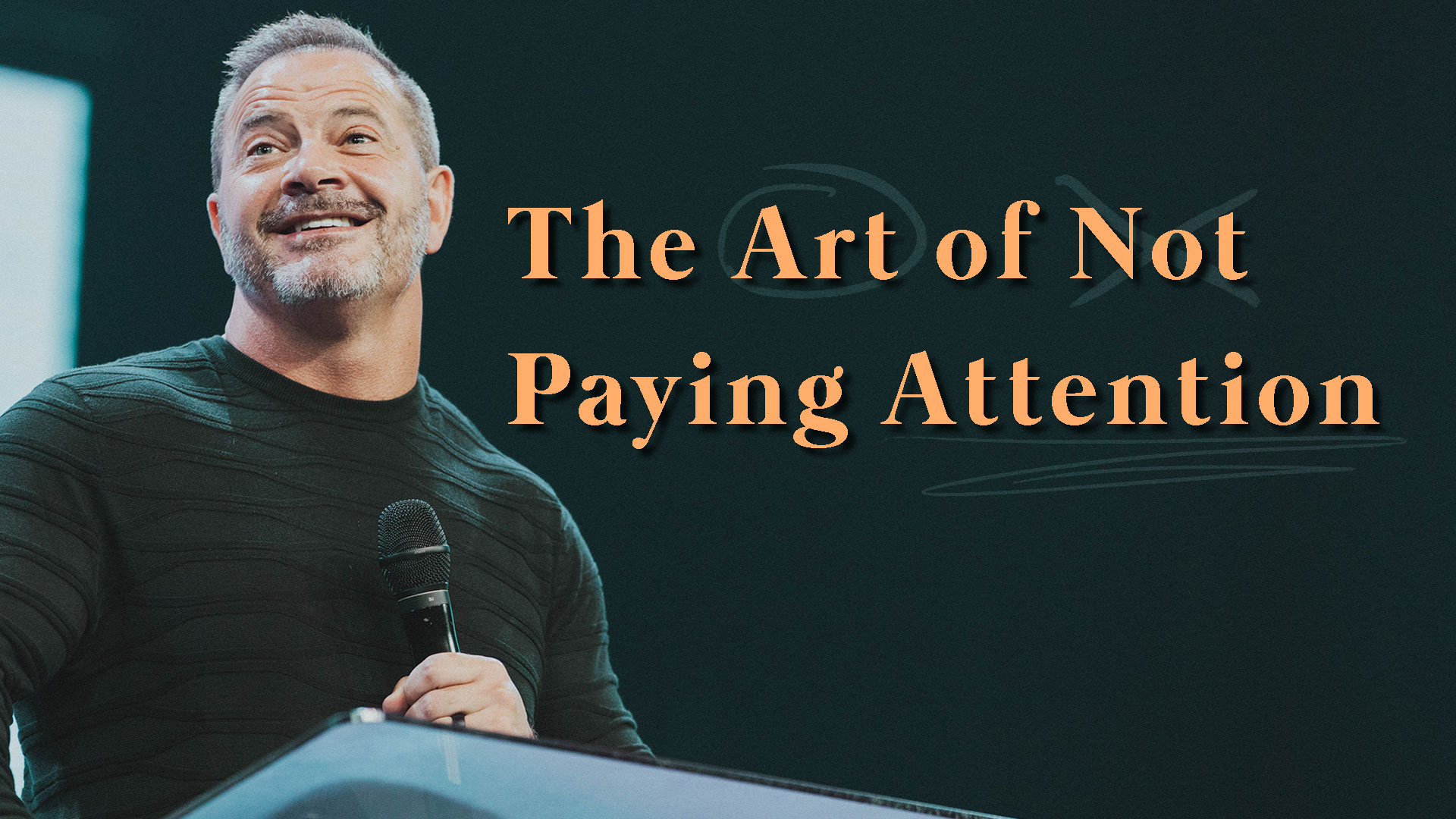 The Art of Not Paying Attention